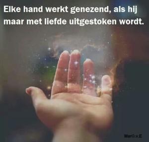 Gaia Healing - Elke hand werkt genezend - Avalon-ELA energie